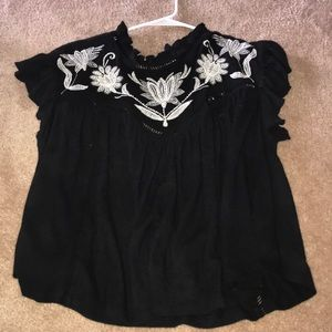 Free people top, worn only once